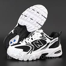 Женские кроссовки в стиле New Balance 530, черно-белый, Вьетнам