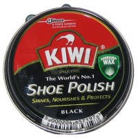 Крем в железной банки KIWI черный 50мл.