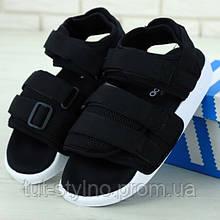 Мужские сандалии в стиле Adidas Adilette Sandal, черный, Китай