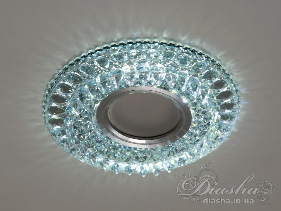 Точкові світильники з підсвічуванням Diasha 8121WH