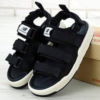 Женские сандалии в стиле New Balance Caravan Multi Sandals, черный, Корея
