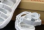 Женские сандалии в стиле New Balance Caravan Multi Sandals, белый, рефлектив, Корея, фото 5