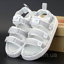 Мужские сандалии в стиле New Balance Caravan Multi Sandals, белый, рефлектив, Корея