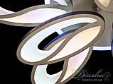 Светодиодная люстра Diasha 8090/6+3BK LED 3color dimmer, фото 8