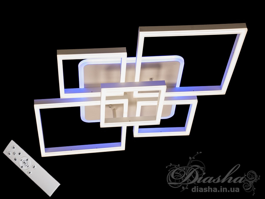 Світлодіодна люстра Diasha MX11040/2+3A WH LED 3color dimmer
