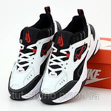 Мужские кроссовки в стиле Nike M2K Tekno, белый, черный, красный, Вьетнам