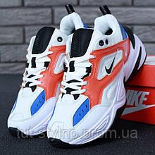 Женские кроссовки в стиле Nike M2K Tekno, белый, синий, красный, черный, Китай