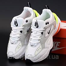 Женские кроссовки в стиле Nike M2K Tekno, черный, белый, оранжевый, желтый, Вьетнам