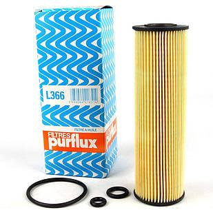 Масляний фільтр (154х47х21мм) Mersedes Vito 639 3.2 / 3.5 / 3.7 (бензин) 2006 - ПОЛЬЩА (Франція) L366