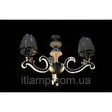 Люстра абажурная светодиодная на 3 плафона Diasha 8316/3, фото 2