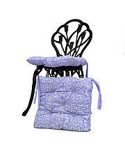 Подушка на стул Фреска Лаванда