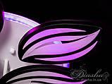Люстри світлодіодні Diasha 8092/6+3BK LED 3color dimmer, фото 4