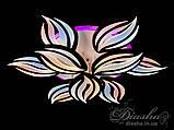 Люстри світлодіодні Diasha 8092/6+3BK LED 3color dimmer, фото 6
