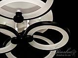 Люстри світлодіодні Diasha 8022/4BK LED 3color dimmer, фото 7