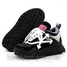 Женские кроссовки в стиле Off-White Odsy-1000, белый, черный, розовый, Вьетнам