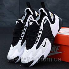 Женские кроссовки в стиле Nike Zoom 2K, черно-белый, Вьетнам