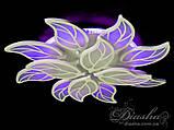 Люстри світлодіодні Diasha 8028/8+4WH LED 3color dimmer, фото 4