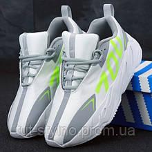 Мужские кроссовки в стиле Adidas Yeezy wave 700 VX, белый, серый, Вьетнам