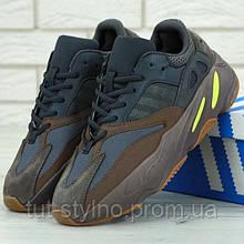 Женские кроссовки в стиле Adidas Yeezy 700, серый, коричневый, желтый, Китай