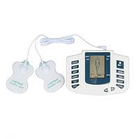 Масажер електро стимулятор точковий для тіла і стоп Electronic Pulse Massager JR-309A, тапочки-міостимулятори