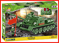 Конструктор COBI танк Середня самохідна гармата СУ-100 COBI-2541