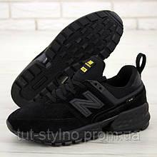 Женские кроссовки в стиле New Balance 574 Sport V2, черный, Китай 37