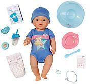 Кукла Baby Born Очаровательный малыш 43 см с чипом и аксессуарами
