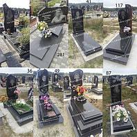 Памятники із чорного граніту