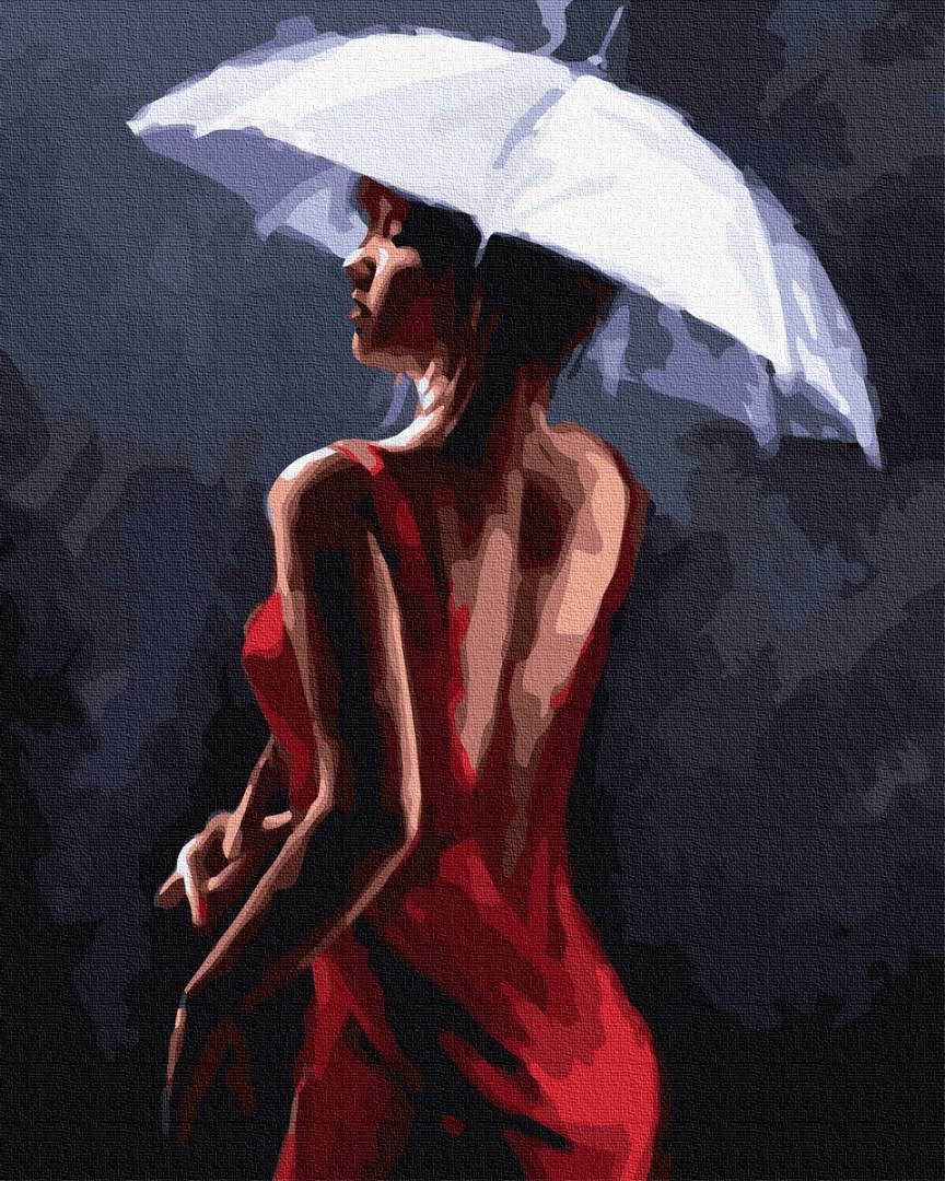 Леди под зонтиком