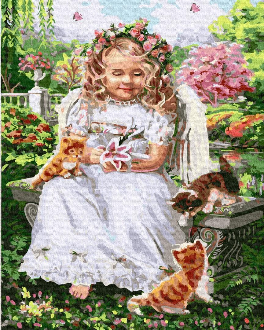 Ребенок ангелочек