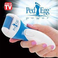 Электрическая роликовая пилка электропемза для стоп  Ped Egg Power