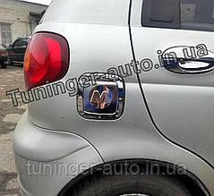 Хром-накладки на лючок бензобака Daewoo Matiz 1996-