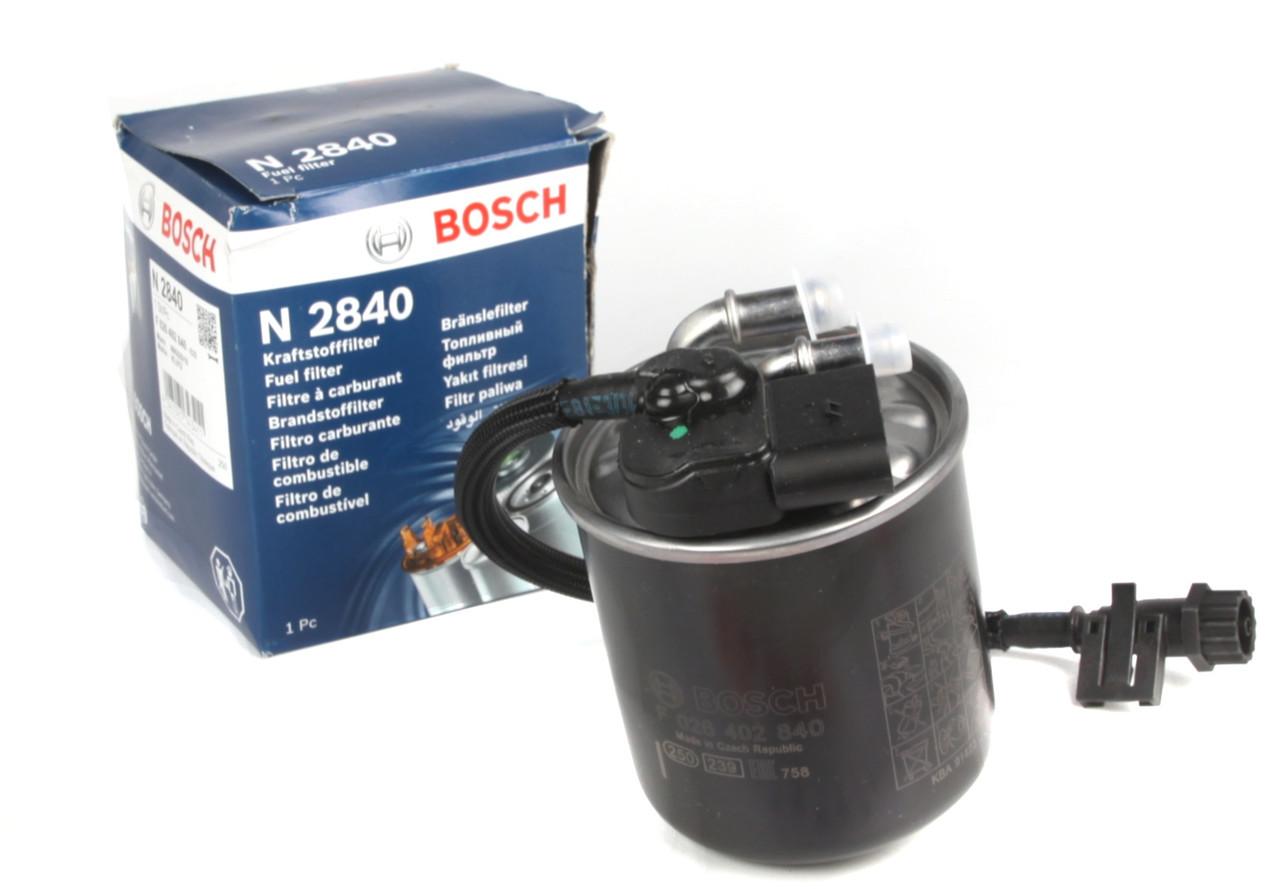 Паливний фільтр Mersedes Vito 639 2.2 CDI (c водним сепаратором,двиг.OM651) 2010 - BOSCH (Німеччина) F026402840