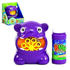 Детская установка для мыльных пузырей генератор-пузырей 011/23634 бегемот