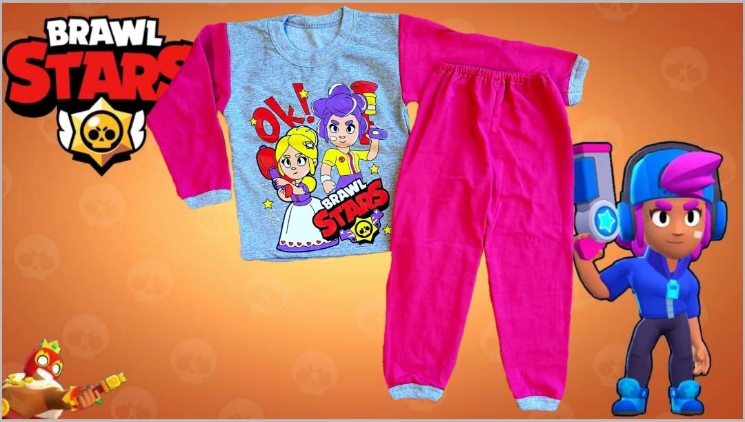 Пижама байка Бравл Старс BrawlStars на девочку