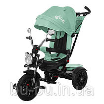 Велосипед триколісний TILLY TORNADO T-383 Бірюзовий /1/