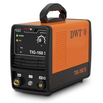 Аргоновый сварочный аппарат DWT TIG-160 S