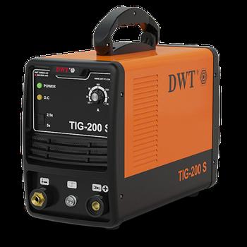 Аргоновый сварочный аппарат DWT TIG-200 S