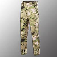"""Штаны Soft Shell утепленные """"Esdy. 190"""" ( A-Tacs FG) тактические, брюки полиции, теплые, карго"""