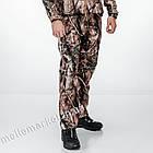 """🔥 Штаны Soft Shell утепленные """"Esdy. 190"""" (Лесной камуфляж) для охоты и рыбалки, тактические, теплые, военные, фото 5"""