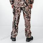 """🔥 Штаны Soft Shell утепленные """"Esdy. 190"""" (Лесной камуфляж) для охоты и рыбалки, тактические, теплые, военные, фото 6"""