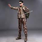 """🔥 Штаны Soft Shell утепленные """"Esdy. 190"""" (Лесной камуфляж) для охоты и рыбалки, тактические, теплые, военные, фото 7"""