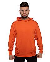Худи оранжевый толстовки мужские и женские парные кофты регланы весенние