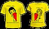 """Парные футболки """"Любовь это..."""""""