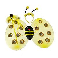 Детский карнавальный костюм пчелы набор 3 в 1