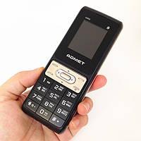 Мобильный телефон ADMET 888 на 3 Sim с большими буквами под Самсунг + фонарик