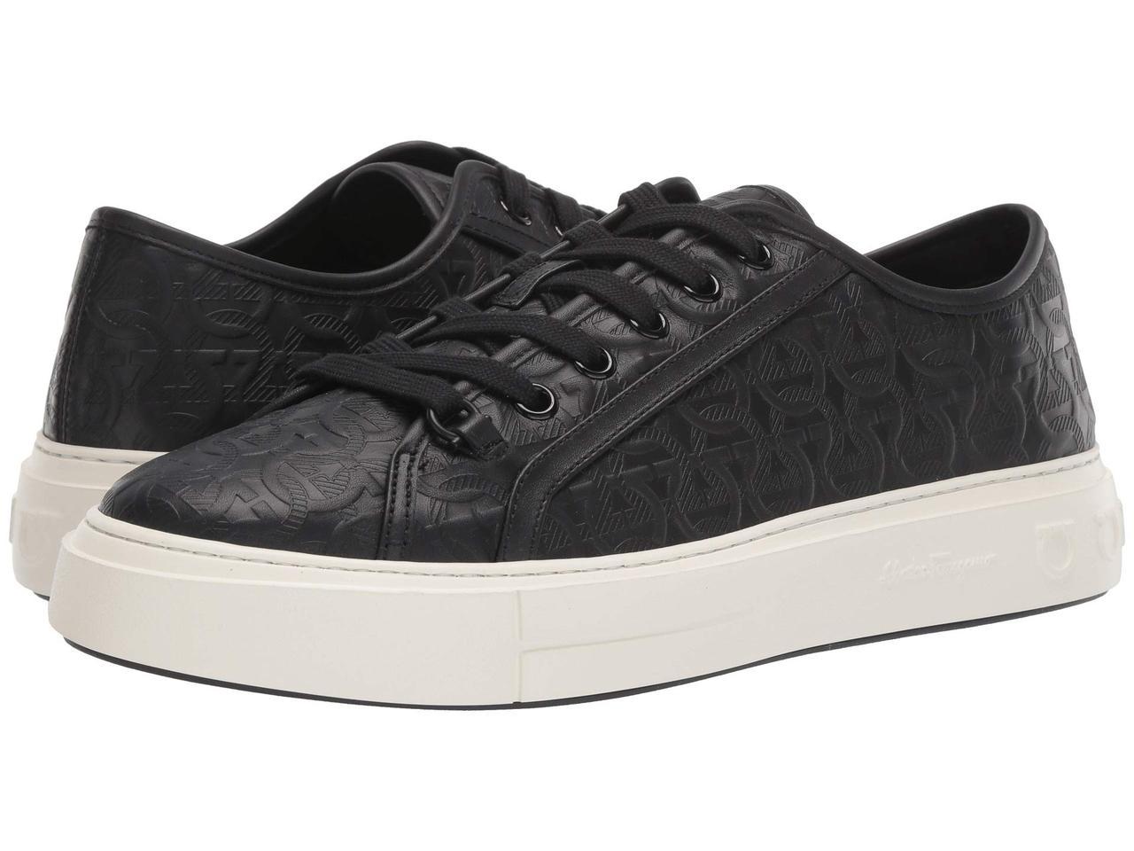 Кроссовки/Кеды (Оригинал) Salvatore Ferragamo Anson 2 Sneaker Black