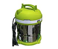 Промышленный пылесос Cleaner VC-1400 (объём бака 20 л, влагозащищенный, корпус из нержавеющей стали, 5