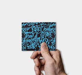 Кошелек Paper Lab Blue wall   Tyvek