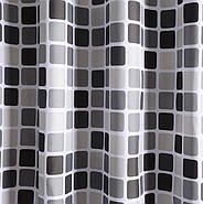 Тканевая шторка для ванной 180х200 см Mosaic, фото 3